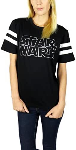 Star Wars Womens Logo Varsity Football Tee