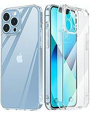 MATEPROX Etui Przezroczysty na telefon iPhone 13 Pro Case Odporne na Uderzenia Twardy Cienkie Etui do iPhone 13 Pro 6,1'' 2021-Jasne Precyzyjne
