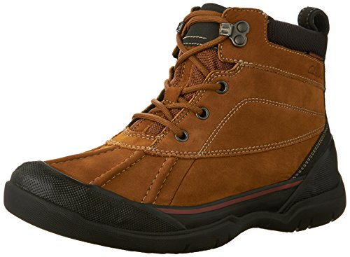 Clarks Mens Allyn Top Vattentät Känga 1911 Tan