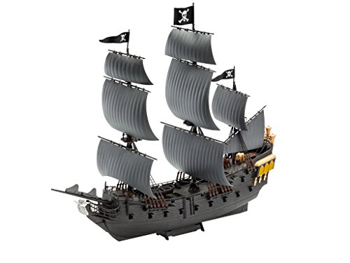 Pearl Figure Toy - Revell 65499 - Pirates Of The Caribbean Model Set Black Pearl 1:150 Scale,