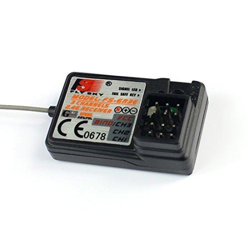 Flysky 3ch 2.4g Gr3e Fs-gr3c Gt3b Gt2 Receiver for Rc Car Rc