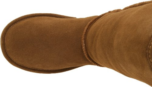 Marrón color planas Emma Botas Hickory Braun 12 Marrón Bearpaw xqnY6g44