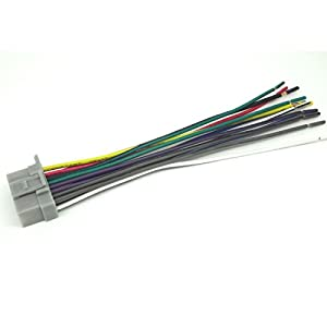41HWTTfWK9L._SY300_ amazon com 16pin wire harness for panasonic cq c1303u cq c1304u panasonic cq-cp134u wiring harness at gsmportal.co
