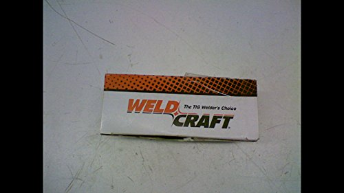 Alumina Gas Lens Nozzles - Weldcraft 53N60 Pack Of 10 Alumina Gas Lens Nozzle Size 6 1