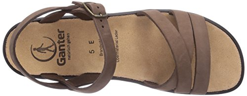 Ganter Sonnica, Weite E, Sandales Femme Marron (Coffee 2100)