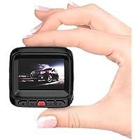 SMALL-EYE Dash Cam, Dashboard Camera Full HD 1080P 2.0 LCD Car DVR Recorder Dashcam 170 Degree G-Sensor Loop Recording Night Vision & WDR