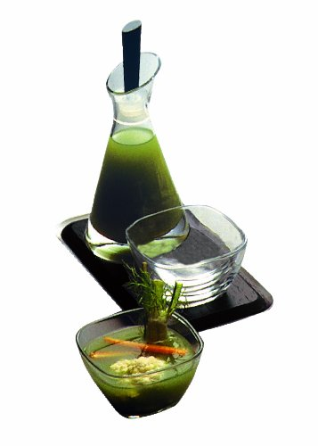 Mepra Ice Salad Dressing Bottle, Tray and Salt Shaker by MEPRA