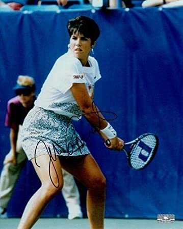 Jennifer Capriati Autographed Tennis 8x10 Photo At Amazon S Sports Collectibles Store