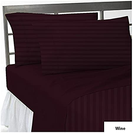 1000 Thread Count Home Egyptian Cotton Bedding Items UK-Sizes Taupe Color