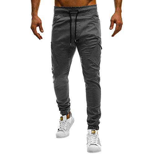 Uomini Dei Biker Jogg Chino Da Jogging Especial Lunghi Normali Pantaloni I Allungano Slim Grigio Estilo Jeans Cargo Longra Fit Progettista yF1WqcUSyE