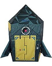 NARMAY Play Tent Rocket Ship Playhouse for Kids Indoor/Outdoor Fun - 44 x 42 x 60 inch