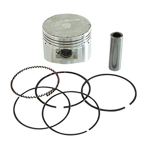 JRL - Segmenti pistone per 110 cc 125 cc 120 cc Dirt Bike Thumpstar Loncin Lifan, diam. 52,4 mm