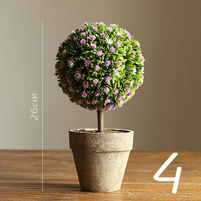 Walnut Bonsai Coffee Green Succulents Planting Pot Flower Grass Desktop Christmas Table Ornament Decoration 4