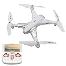 Goolsky Z3 RC Quadcopter Drone 720P Camera WiFi FPV Optical Positioning Foldable G-Sensor Altitude Hold Speed Mode for Beginners