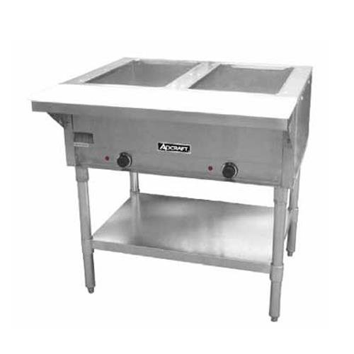 Adcraft 2 Bay Open Well Steam Table Model ST-120-2 by Adcraft