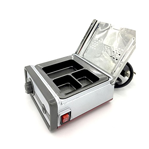 New Type Dental Lab Equipment Analog Wax Heater Pot 3 Compartments JT-15B Metal Soften Wax Fast Heating Analog Dipping Pot