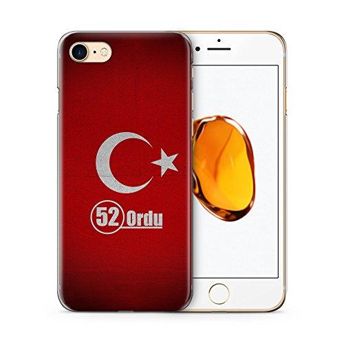 Ordu 52 Türkiye Türkei Hülle für iPhone 7 SLIM Hardcase Cover Case Handyhülle Tasche Turkey Bayrak
