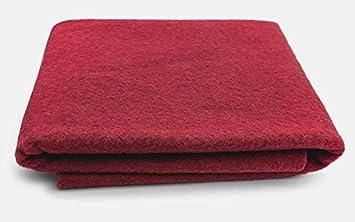 XXL Wool Felt Sheet Cottage Red 100/% Virgin Merino Wool 36 in x 36 in