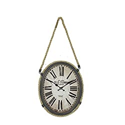 Hanging OLD TOWN Clock Vintage English Clock Shop Wall Clocks