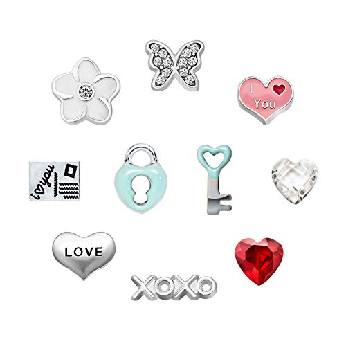 Mother's Day 10 Pcs Butterfly Floating Charms for