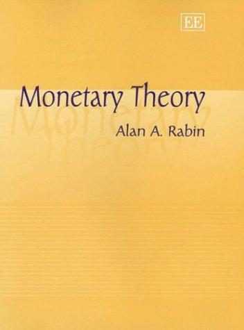 Essays in monetary theory