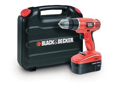 Black+Decker EPC18CAK-GB - Taladro atornillador (18 volts)