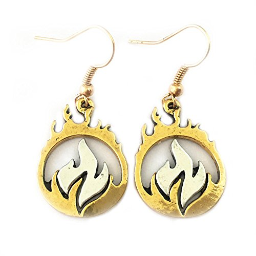 Transformers Heatwave Costume (Dangle Earrings Legends of Tomorrow Heatwave In Gift Box by Superheroes)