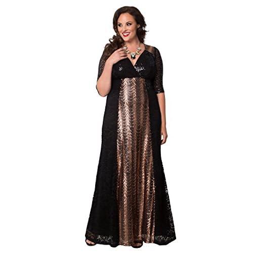 1ca29c2e785 cheap Kiyonna Women s Plus Size Grand Gatsby Gown - playshoppen.dk