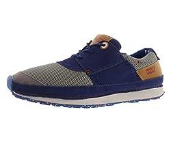 Levis Men's City Runner Fashion Sneaker,Dark Brown,8 M US