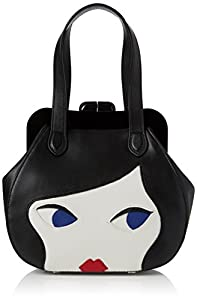 Lulu Guinness Women s Pollyanna Top-Handle Bag   Clasp extremely ... 56af18079b363