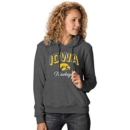 Iowa Hawkeyes Womens Premium Campus Classic Goodie Hoodie - ()