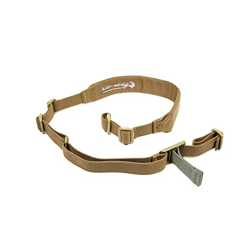Blue Force Gear Vickers 2-Point Padded Combat Sling, Coyote Brown ()