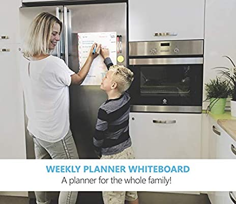 Planificador semanal magnético para nevera - Actividad, comida ...