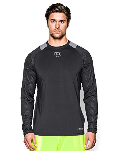 Under Armour Men's UA Undeniable Baseball Long Sleeve Shi...