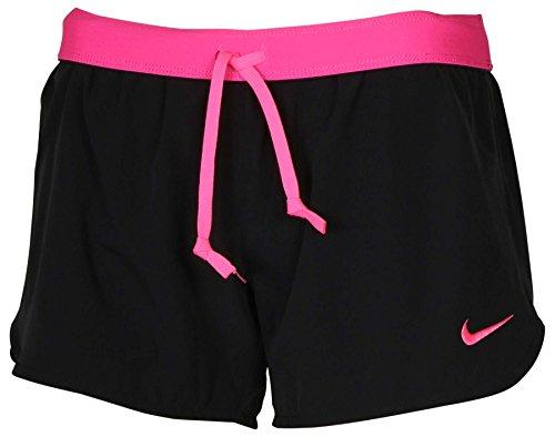 Nike Womens Flex Training Short (Medium, Black/Pink) (Womens Gym Nike Shorts)