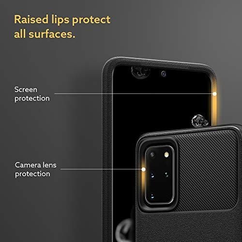 Caseology Vault for Samsung Galaxy S20 Plus Case (2020) - Textured Grip - Matte Black
