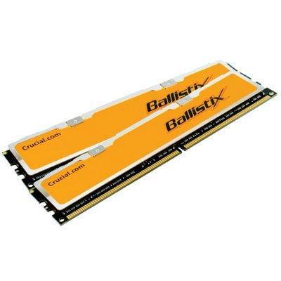 Crucial Ballistix 2GB kit (1GBx2), 240-pin DIMM, DDR2 PC2-6400 Memory Module - BL2KIT12864AA804