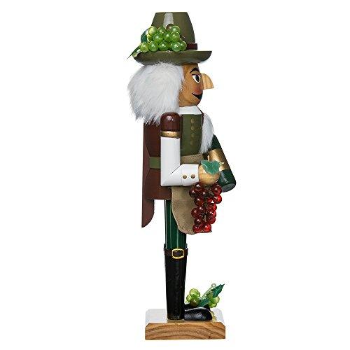 Kurt Adler 15-Inch Wooden Wine Grower Nutcracker by Kurt Adler (Image #3)