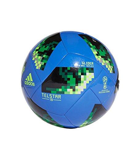 Adidas World Cup Glider Soccer Ball BLUE/GREEN/SILVER (Soccer Ball Cup)