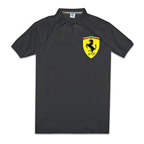 jisi-five-polo-t-shirt-for-men-ferrari-black