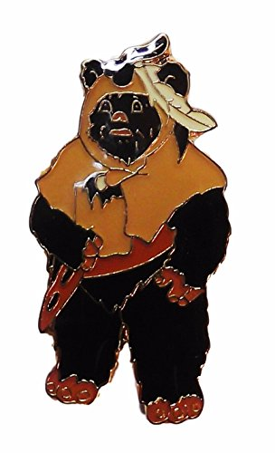 [Star Wars Wicket the EWOK Character Full Figure Metal w/Enamel PIN] (Ewok Star Wars Costume)