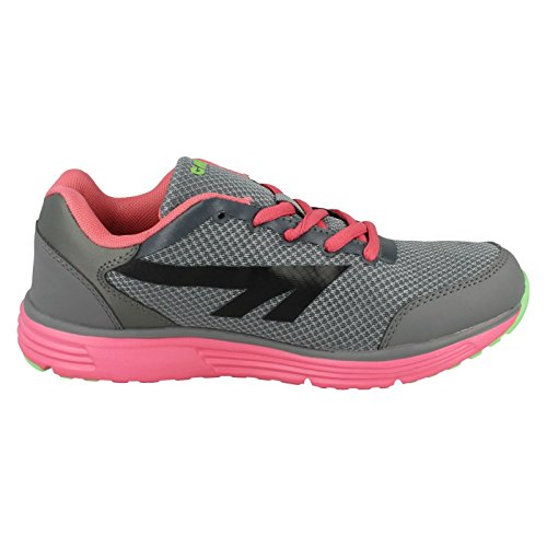 Hi-Tec Pajo, Running Entrainement Femme Grey/Pink/Lime