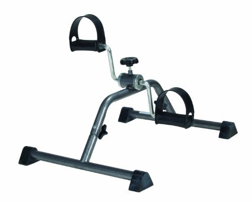 Drive Medical Pedal Exerciser with Attractive Silver Vein Finish, Silver Vein (Knock down) (Pack of 2) by Drive Medical (Image #1)