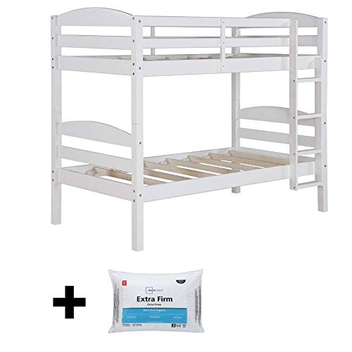 Better Homes and Gardens Converts to 2 stand-alone Twin Over Twin Wood Bunk Bed Bed Only in Black