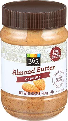 Peanut & Nut Butters: 365 Everyday Value Almond Butter