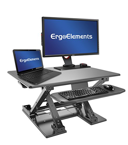Ergo Elements Liberate Standing Desk Converter XL