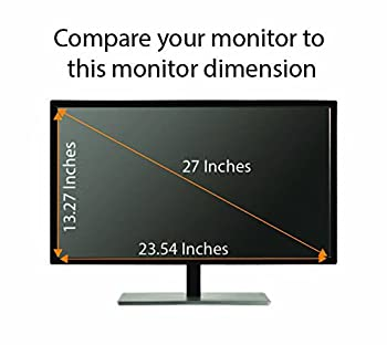 Privacy Screen Filter for 27 Inches Desktop Computer Widescreen Monitor