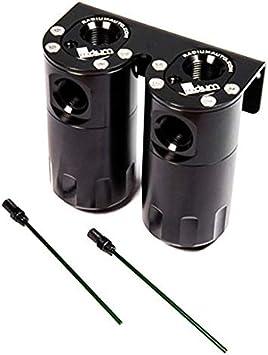 Radium Catch Can Kit Dual Universal 20-0005