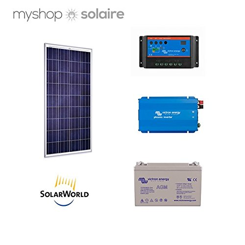 Solarstrom - 85w Massagedusche autonome Spannungswandler 230 V/180 Va
