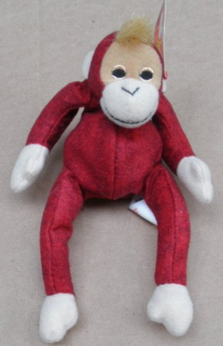 TY Teenie Beanie Babies Schweetheart the Orangutang Stuffed Animal Plush Toy (Mad Teenies)